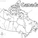 Canada Printable Map | Geography | Printable Maps, Map, Map Worksheets | Free Printable Map Of Canada Worksheet