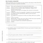 Capitulo 2 – Sra. Sheets' Spanish Class | Reflexive Verbs In Spanish Printable Worksheets