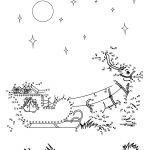 Christmas Dot To Dot   24 Free Dot To Dot Printable Worksheets For | Free Christmas Connect The Dots Worksheets Printable