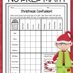Christmas Math Worksheets | Teaching Ideas And Resources | Christmas | Printable Christmas Math Worksheets 6Th Grade