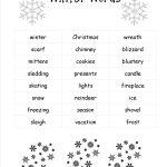 Christmas Worksheets And Printouts | Christmas Writing Worksheets Printables