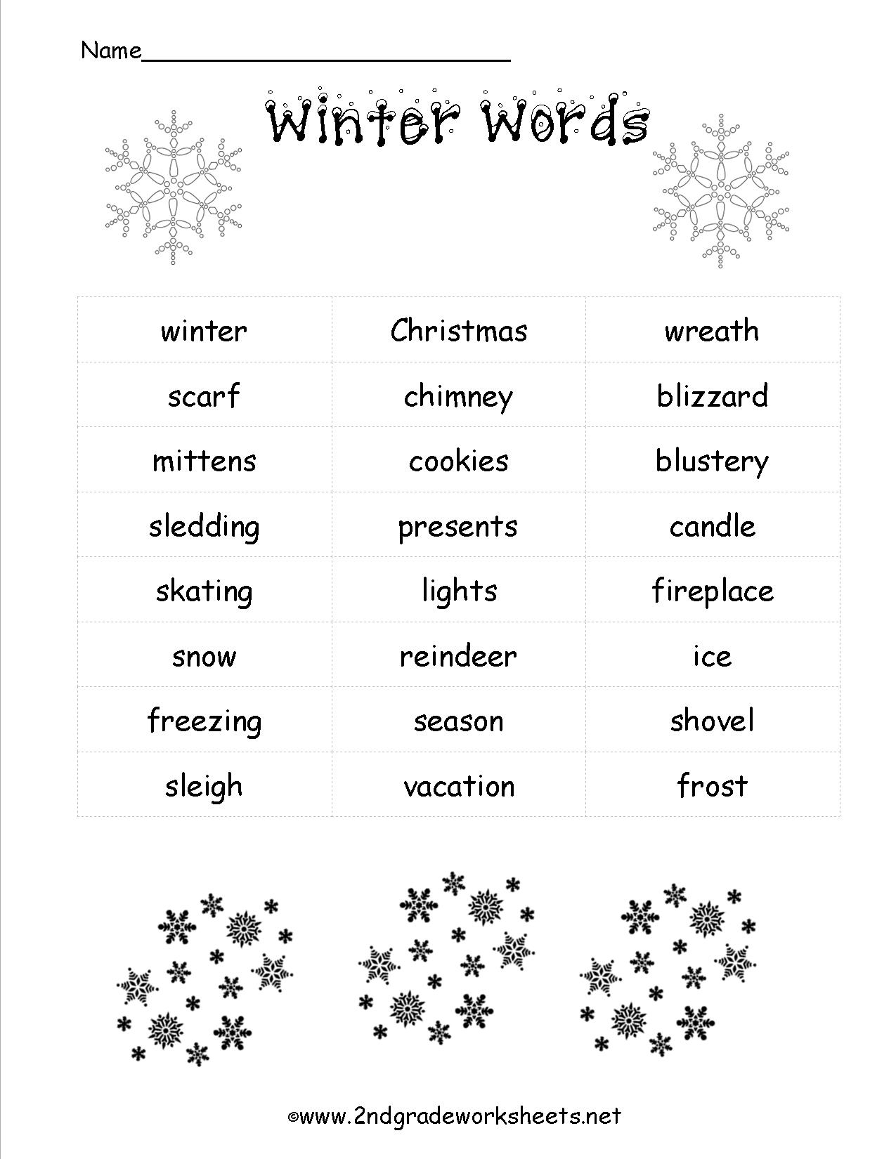 Christmas Worksheets And Printouts | Free Printable Christmas Worksheets
