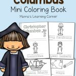 Christopher Columbus Coloring Pages   Mamas Learning Corner | Christopher Columbus Printable Worksheets