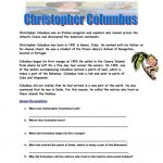 Christopher Columbus Worksheet   Free Esl Printable Worksheets Made | Christopher Columbus Printable Worksheets