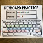 Chromebook Keyboard Printable Practice Sheets | Teacher | Teaching | Free Printable Computer Keyboarding Worksheets