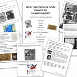 Civil Rights Movement   Homeschool Den   Civil Rights Movement Worksheets Printable