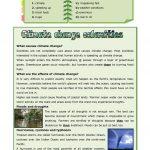 Climate Change Calamities Worksheet   Free Esl Printable Worksheets | Climate Change Printable Worksheets