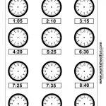 Clock Telling Time Worksheet Printable   Worksheetfun   Free   Free Printable Telling Time Worksheets