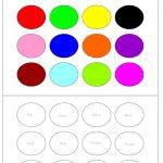 Color Recognition Worksheets For Preschoolers   Working With Colors   Color Recognition Worksheets Free Printable