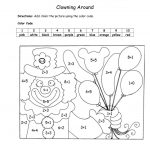 Coloring ~ Colornumber Math Worksheets Authenticlour Numbers | Printable Color By Number Math Worksheets