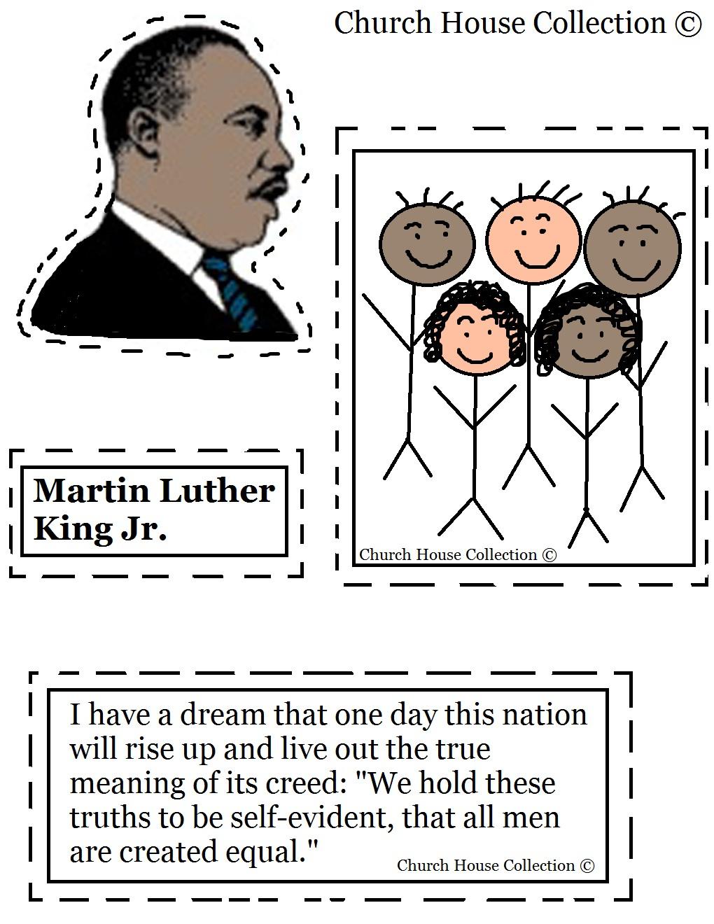 Coloring Pages ~ Free Printable Coloringes Of Martin Luther King Jr | Free Printable Martin Luther King Jr Worksheets For Kindergarten