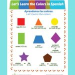 Colors In Spanish | *bilingual Teaching Ideas And Products | Spanish | Bilingual Worksheets Printable