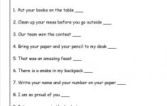 Command Or Exclamation Worksheet | Reading | Types Of Sentences | 3Rd Grade Language Arts Worksheets Printables