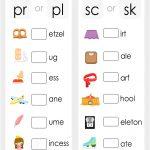 Consonant Blends Worksheet   Free Printable Puzzle Games   Free Printable Consonant Blends Worksheets
