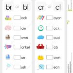 Consonant Blends Worksheets For Kindergarten   Scalien   Second   Free Printable Consonant Blends Worksheets