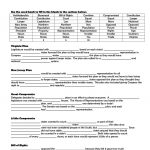 Constitution Worksheet Pdf   Soccerphysicsonline | Constitution Printable Worksheets