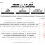 Constitution Worksheets Free 3 Branches Government Worksheet   Free | Constitution Printable Worksheets
