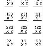 Copy Of Single Digit Multiplication Worksheets   Lessons   Tes Teach | 3 Digit By 1 Digit Multiplication Worksheets Printable