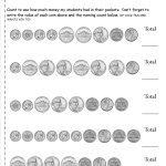 Counting Coins And Money Worksheets And Printouts | Free Printable Coin Worksheets