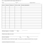 Court Ordered Community Service Form |  Community Service Hours | Community Service Printable Worksheets