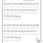 Cursive Handwriting Sheet   Karis.sticken.co | Printable Cursive Handwriting Worksheet Generator
