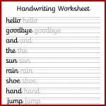 Cursive Handwriting Worksheets – Free Printable! ⋆ Mama Geek   Free | Free Printable Handwriting Worksheets