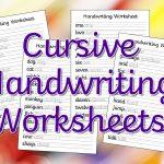 Cursive Handwriting Worksheets – Free Printable! ⋆ Mama Geek | Free Printable Cursive Writing Sentences Worksheets