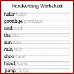 Cursive Handwriting Worksheets – Free Printable! ⋆ Mama Geek   Free | Printable Penmanship Worksheets