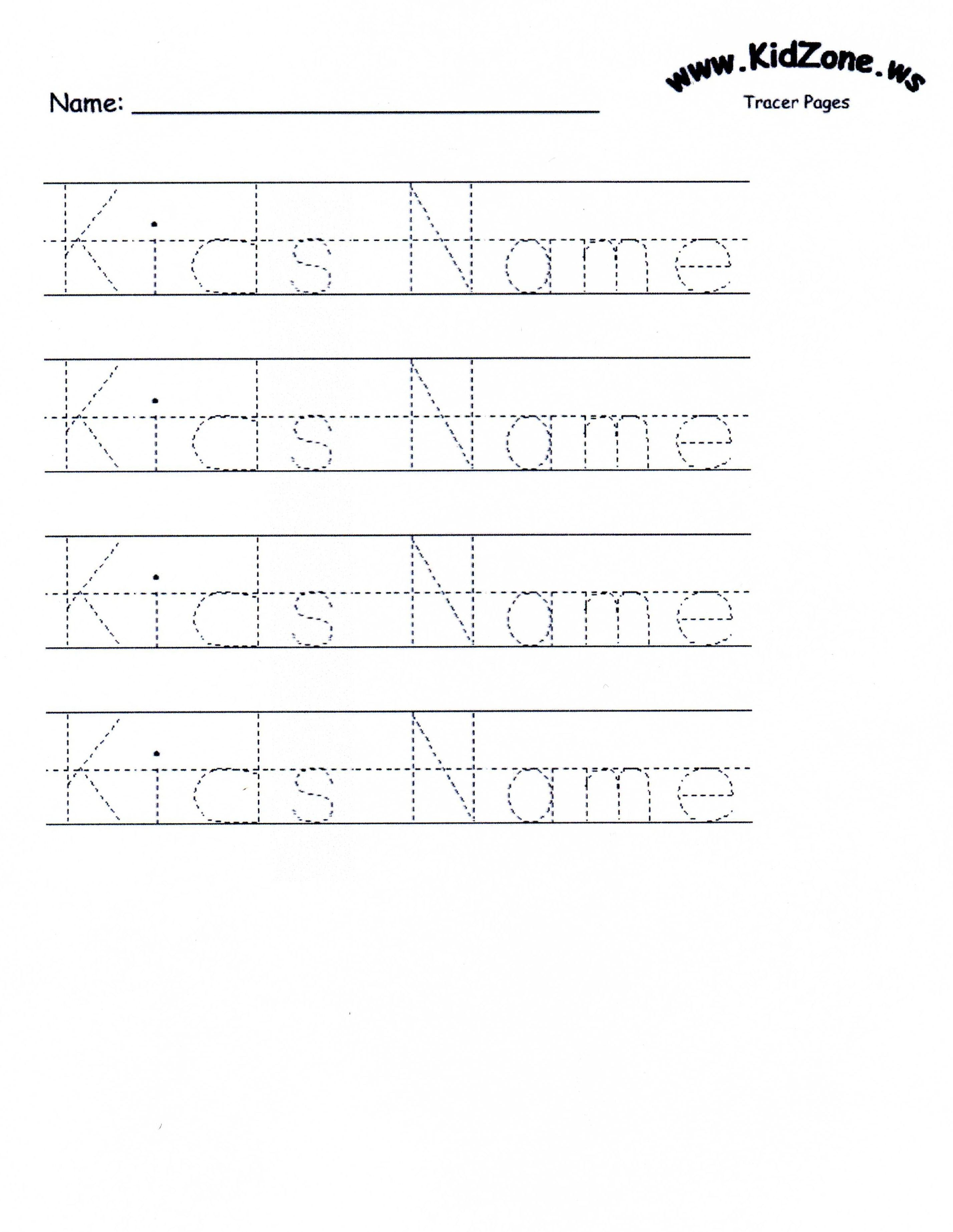 Customizable Printable Letter Pages | Teaching Mackenzie And Juliana | Printable Name Worksheets