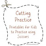 Cutting Practice Printables   Free Printable Cutting Worksheets For Kindergarten