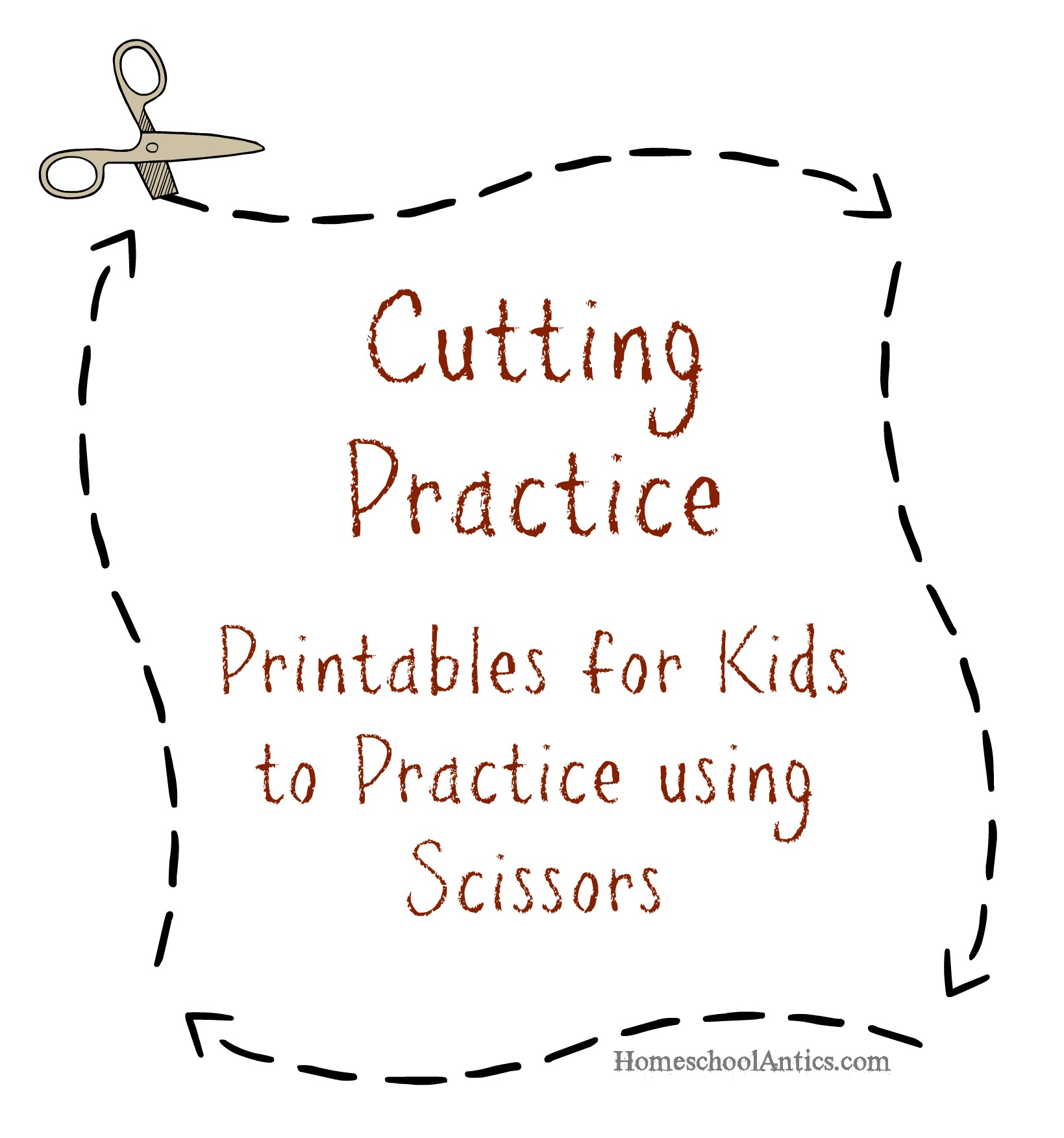Cutting Practice Printables | Free Printable Cutting Worksheets For Kindergarten