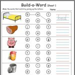 Cvc Worksheets Printable Work Sheets • Keepkidsreading With Regard | Cvc Words Worksheets Free Printable