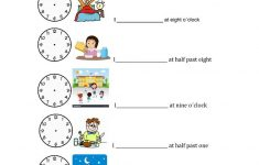 Daily Routines Printable Worksheets