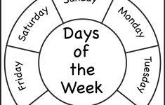 Free Printable Kindergarten Days Of The Week Worksheets