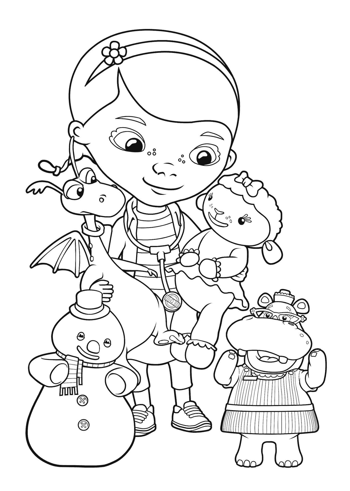 Disney Coloring Pages Doc Mcstuffins | Coloring Pages | Doc | Doc Mcstuffins Printable Worksheets