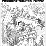Download This Festive Fall Free Printable Hidden Pictures Puzzle To | Free Printable Find The Hidden Objects Worksheets