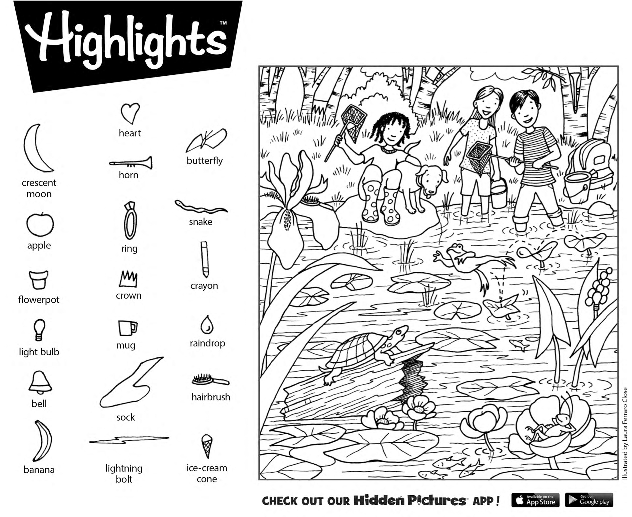 Download This Free Printable Hidden Pictures Puzzle From Highlights | Highlights Hidden Pictures Printable Worksheets