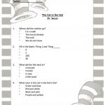 Dr Seuss   The Cat In The Hat Worksheet   Free Esl Printable   Cat In The Hat Free Printable Worksheets