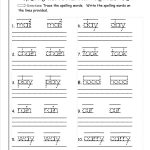 √ Printable Writing Worksheets For First Grade   Free Printable | 1St Grade Writing Worksheets Free Printable