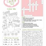 Easter Kids Activity Sheet Free Printable From Wasootch 791X1024   Free Printable Easter Activities Worksheets