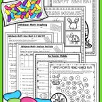 Easter Math Worksheets   Jellybean Math   Easter Activities | Big | Free Printable Easter Worksheets For 3Rd Grade