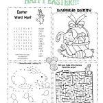 Easter Worksheet   Free Esl Printable Worksheets Madeteachers | Free Printable Easter Activities Worksheets