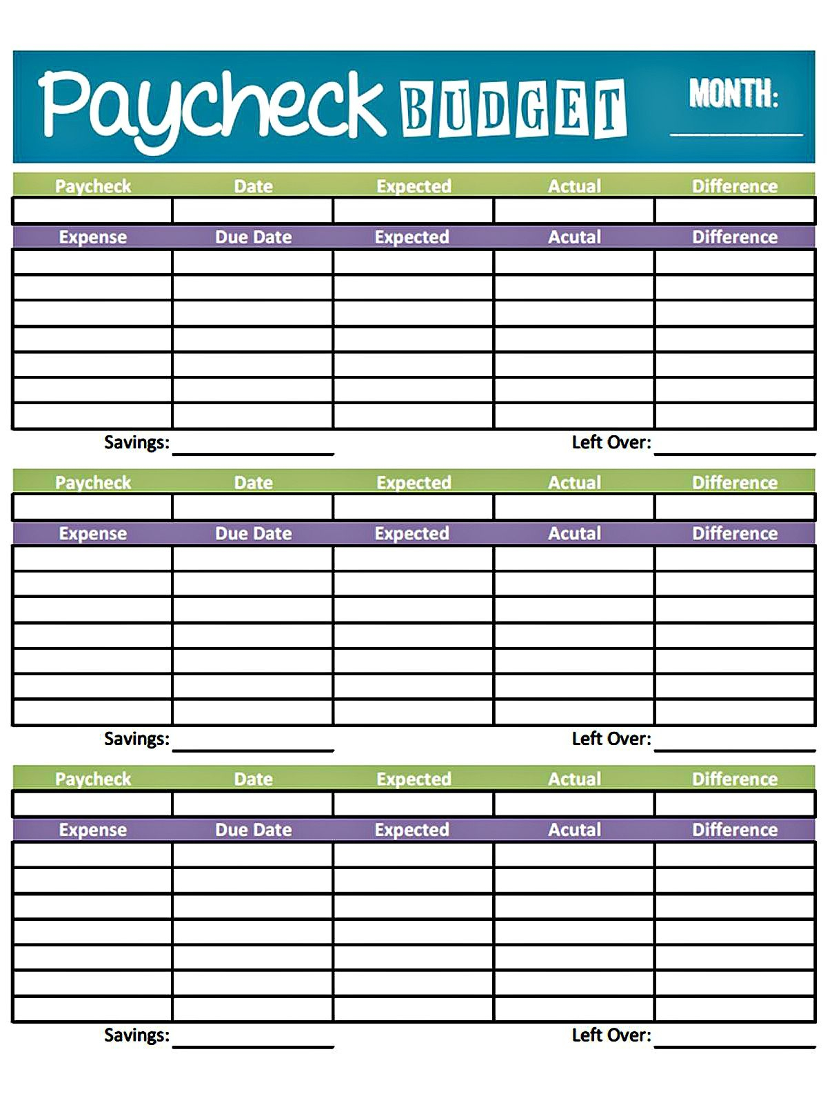 Easy Printable Budget Worksheet | Get Paid Weekly And Charlie Gets | Easy Budget Planner Free Printable Worksheets