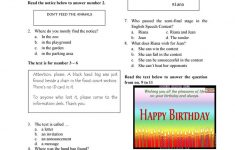 Year 7 English Worksheets Printable