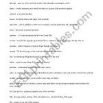 English Worksheets: Yearbook Vocabulary | Yearbook Printable Worksheets