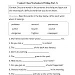 Englishlinx | Context Clues Worksheets | 1St Grade Vocabulary Worksheets Printable