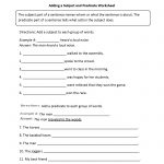 Englishlinx | Subject And Predicate Worksheets   9Th Grade English | 9Th Grade Printable Worksheets Free