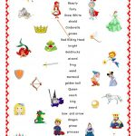Fairy Tales.matching. Worksheet   Free Esl Printable Worksheets Made   Fairy Tales Printable Worksheets