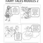 Fairy Tales Riddles 2 Worksheet   Free Esl Printable Worksheets Made | Fairy Tales Printable Worksheets