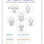 Family Members Worksheet   Free Esl Printable Worksheets Made | Free Printable Worksheets For Preschool Teachers